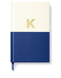 Kate Spade Dipped Initial Collection K Journal