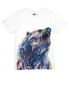 Dedicated Color Bear White T-Shirt