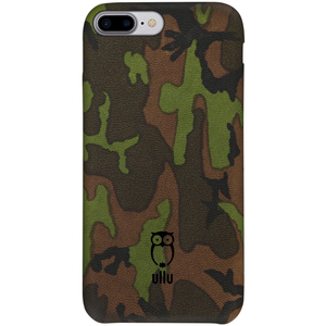 Ullu Snap-On Leather Case Army Woodland iPhone 7 Plus