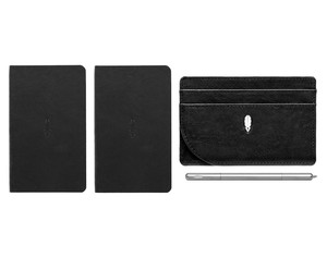Inscribe Journals + Wallet + Pen Set Black Raven