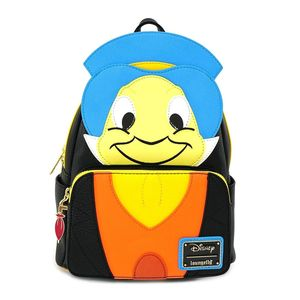 Loungefly Jiminy Cricket Mini Backpack Faux Leather