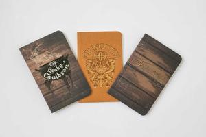 Harry Potter: Diagon Alley Pocket Journal Collection: Set of 3
