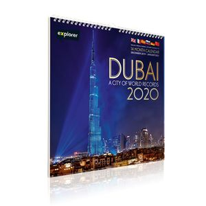 Dubai World Record Calendar 2020