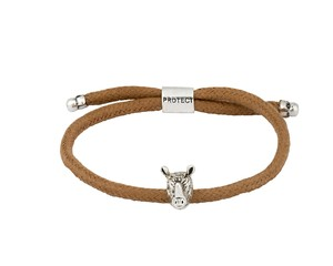 Bold Rhino Endangered Eco Brown Bracelet