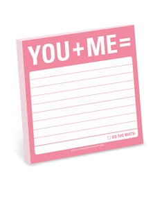 You + Me Sticky Note