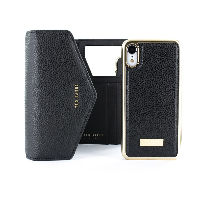 cheap for discount 37039 378f3 Ted Baker Selie Crossbody Case Black for iPhone XR