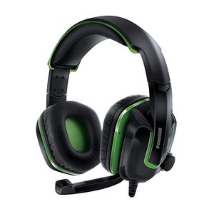 Dreamgear Grx-440 Black/Green Gaming Headset for Xbox One