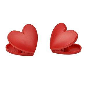 Legami Bag Clips Heart [Set of 6]
