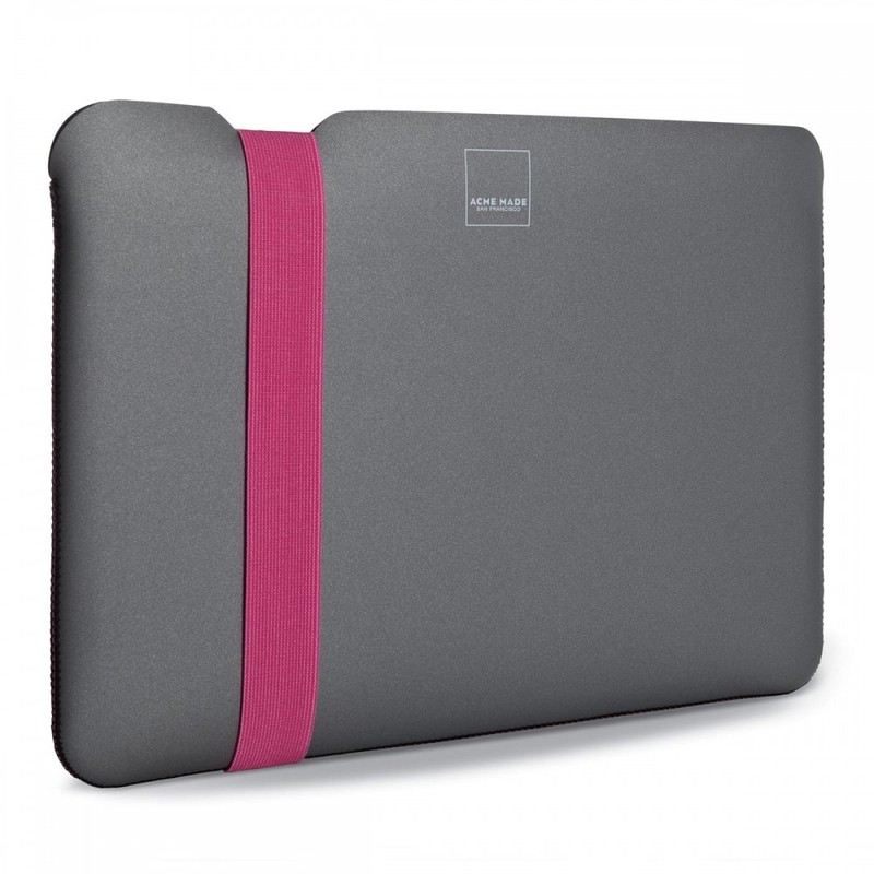 Acme Skinny Sleeve Grey/Pink Macbook Air 13