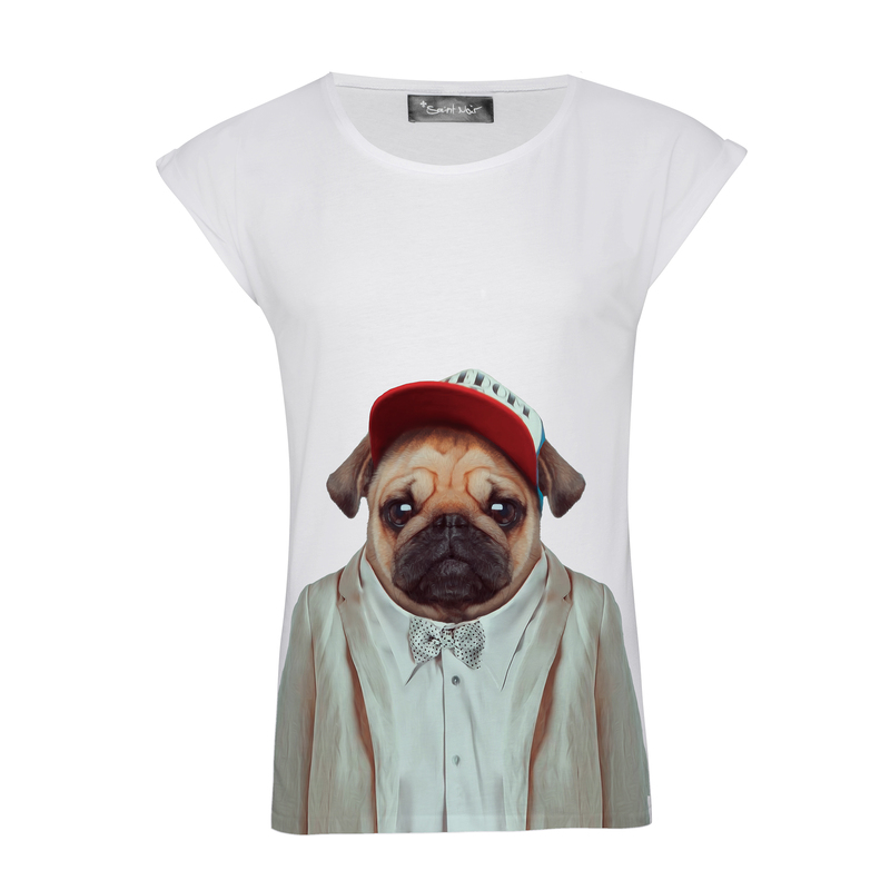 Saint Noir Pug Women's T-Shirt