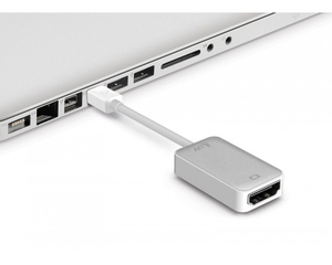 Iluv Mini Displayport To Hdmi Adapter White