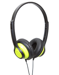 Wicked Audio Clutch Green On-Ear Headphones