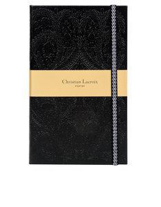 Christian Lacroix A5 Paseo Black Hb Notebook