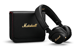 Marshall Mid Anc Black Noise Cancelling Bluetooth On-Ear Headphones