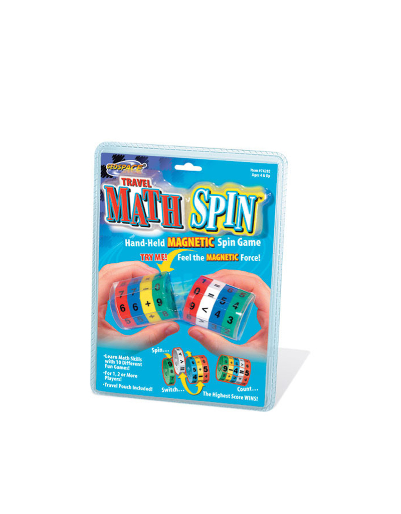 Geospace Travel Math Spin Ed