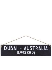 I Want It Now Australia Wooden Location Sign
