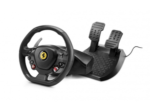 Thrustmaster T80 Ferrari 488 GTB Edition Racing Wheel + Pedals for PS4