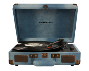 Crosley Cruiser Deluxe Turntable Denim