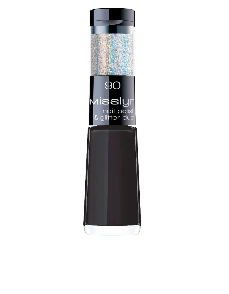 Misslyn Nail Polish & Glitter Dust No.90 Let It Shine | Nails ...