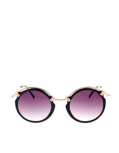 Spitfire Uk A-Teen Black/Gold/Black Sunglasses