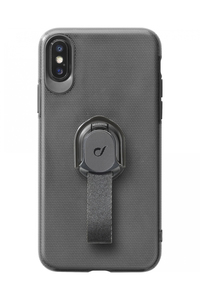 CellularLine Case Black with Fingerloop for iPhone XS