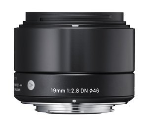Sigma 19mm f/2.8 DN Lens for Sony E-mount Cameras