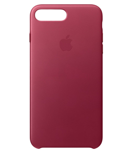 Apple Leather Case Berry For iPhone 7 Plus