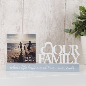 Celebrations Celebrations Photo Frame Family 4 x 4 inch