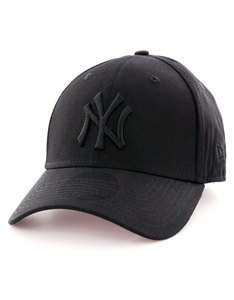 New Era MLB League Basic NY Yankees Black/Black Cap