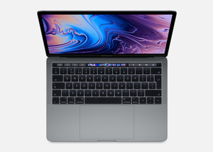 MacBook Pro 13-inch with Touch Bar Space Grey 2.4GHz Quad-Core 8th-Generation Intel-Core i5/256GB