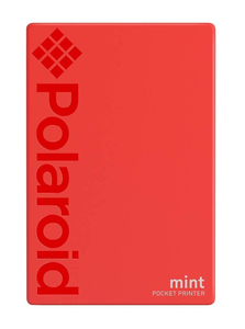 Polaroid Mint Instant Digital Pocket Printer Red [For iOS and Android]