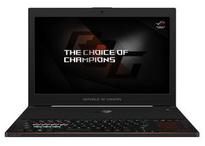 "ASUS ROG GX501GI-EI008T 2.2GHz i7-8750H 15.6"" Black Notebook"
