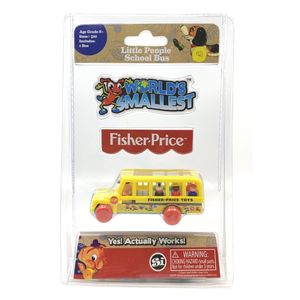 Worlds Smallest Fisher Price School Bus