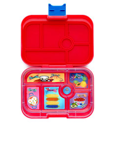 Yumbox Aztec Red 6 Compartment Lunch Box