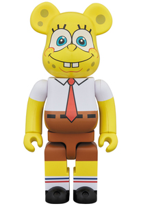 Bearbrick SpongeBob SquarePants 1000 Percent Figure