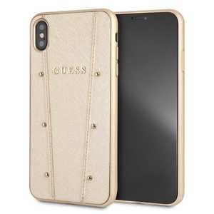 Guess Kaia Case Gold for iPhone XS Max