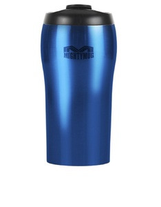 Mighty Mug Solo Stainless Steel Blue