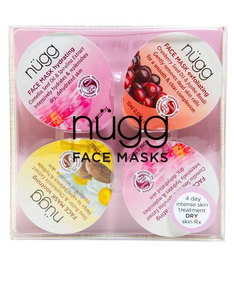 Nugg Beauty 4 Day Moisture Boost: Multi-Masking Set For Dry Skin 10ml [4 Pack]