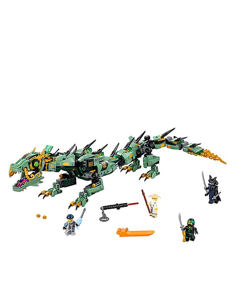 lego ninjago movie green ninja mech dragon 70612 building blocks science engineering. Black Bedroom Furniture Sets. Home Design Ideas