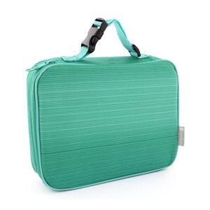 Bentology Complete Lunch Box Set Turquoise [Classic Lunch Box + Bento Box]