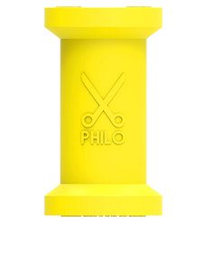 Philo Rubber Cable Organizer Yellow