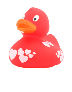 Lilalu Red Rubber Duck