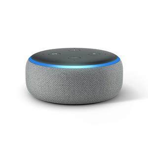 Amazon Echo Dot Heather Grey Fabric [3rd Gen]