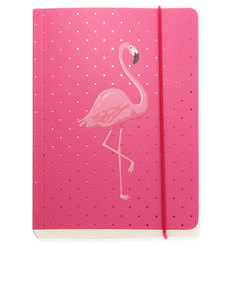 Go Stationery Flamingo A6 Notebook