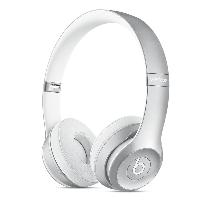 Beats Dr Dre Solo2 Wireless Silver Headphones