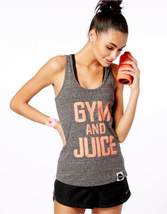 Hey Holla Gym & Juice Racer Back Vest