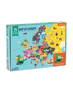 Mudpuppy Map of Europe Puzzle