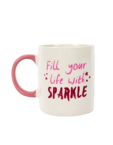 Fill Your Life with Sparkle Ceramic Mug