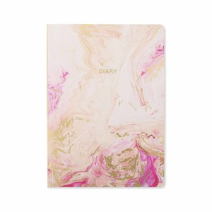 Go Stationery Rose Quartz Week To View 2018-2019 A5 Diary