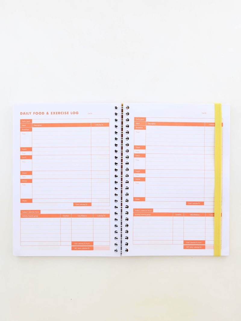 kikki k food exercise sleep journal inspiration agendas